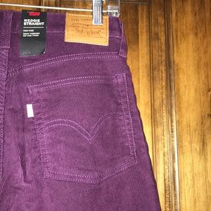 Levi S Jeans Levis Wedgie Straight Corduroy High Rise 27 Poshmark